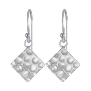 Wholesale Silver Square Earrings