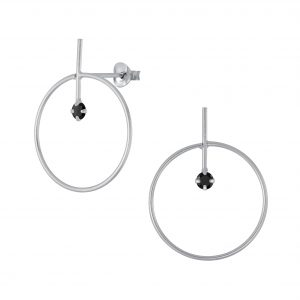 Wholesale Silver Geometric Stud Earrings