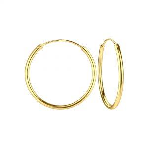 Wholesale 18mm Silver Hoop Earrings