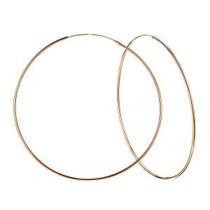 Wholesale 80mm Silver Hoop Earrings
