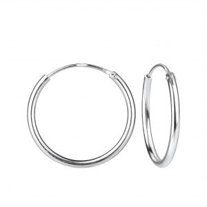 Wholesale 20mm Silver Hoop Earrings