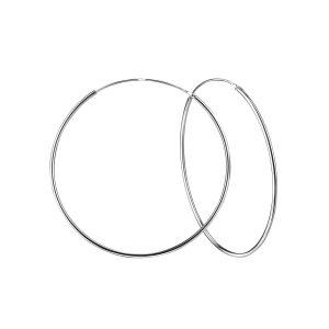 Wholesale 60mm Silver Hoop Earrings