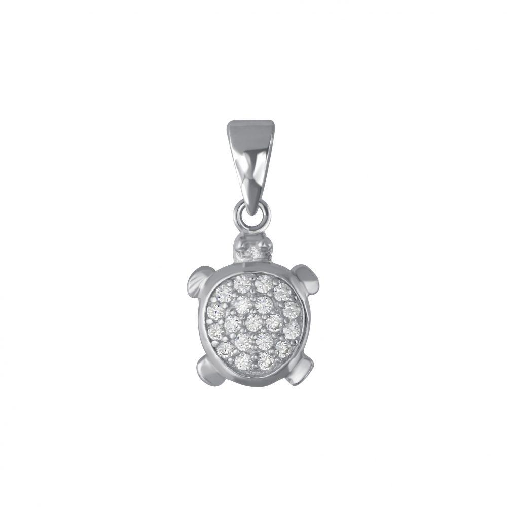 Wholesale Silver Turtle Pendant