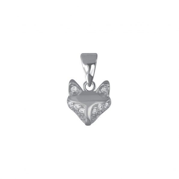 Wholesale Silver Fox Pendant