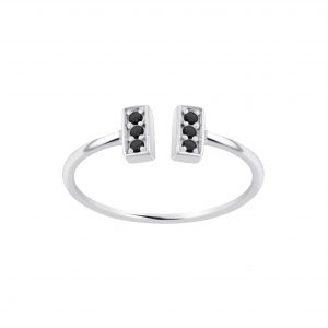 Wholesale Silver Bar Open Ring