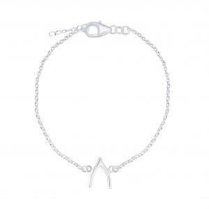 Wholesale Silver Wishbone Bracelet