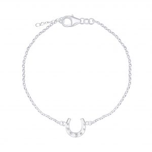 Wholesale Silver Horseshoe Bracelet