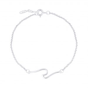 Wholesale Silver Wave Bracelet