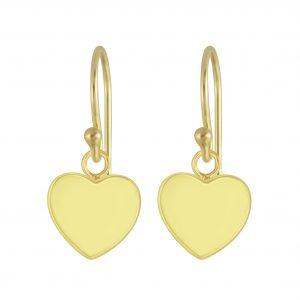 Wholesale Silver Heart Earrings