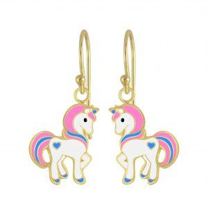 Wholesale Silver Unicorn Earrings