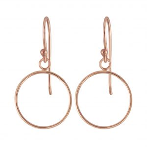 Wholesale Silver Circle Earrings