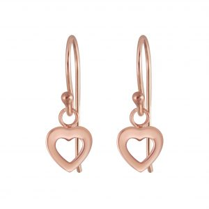 Wholesale Silver Heart Earrings