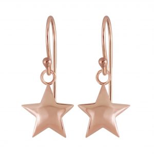 Wholesale Silver Star Earrings