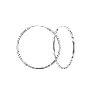 Wholesale 45mm Silver Hoop Earrings