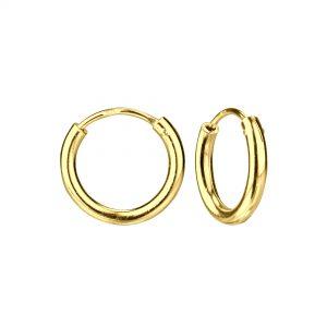 Wholesale 14mm Silver Thick Hoop Earrings