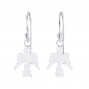 Wholesale Silver Angel Earrings