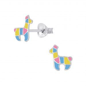 Wholesale Silver Llama Stud Earrings