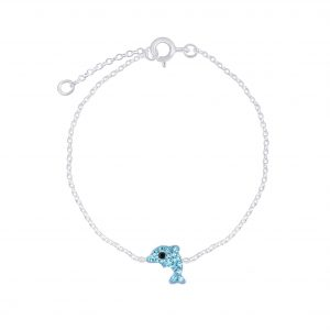 Wholesale Silver Dolphin Bracelet