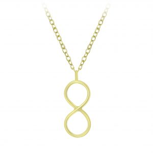 Wholesale Silver Infinity Necklace