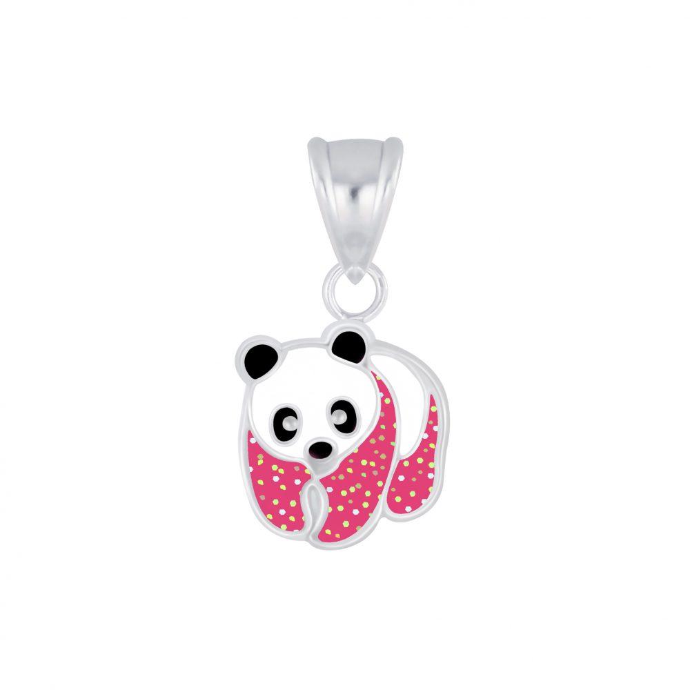 Wholesale Silver Panda Pendant