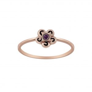 Wholesale Silver Flower Ring