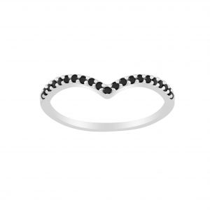 Wholesale Silver Chevron Ring