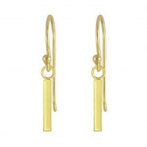 Wholesale Silver Bar Earrings