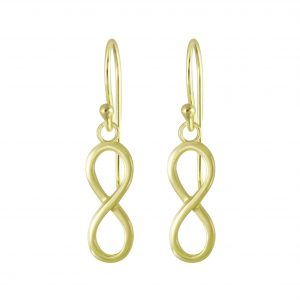 Wholesale Silver Infinity Earrings