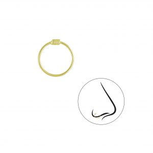 Wholesale 10mm Silver Nose Ring
