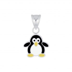 Wholesale Silver Penguin Pendant