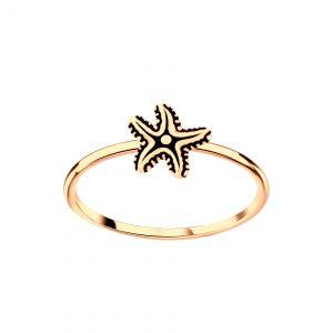 Wholesale Silver Starfish Ring