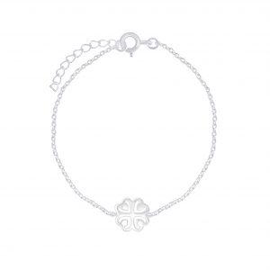 Wholesale Silver Clover Bracelet