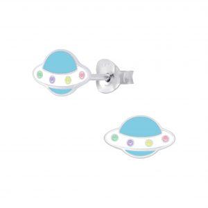Wholesale Silver UFO Stud Earrings