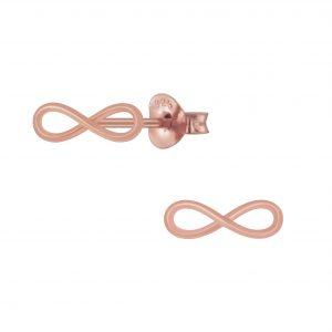Wholesale Silver Bow Stud Earrings