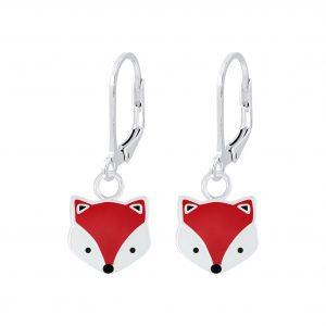 Wholesale Silver Fox Lever Back Earrings
