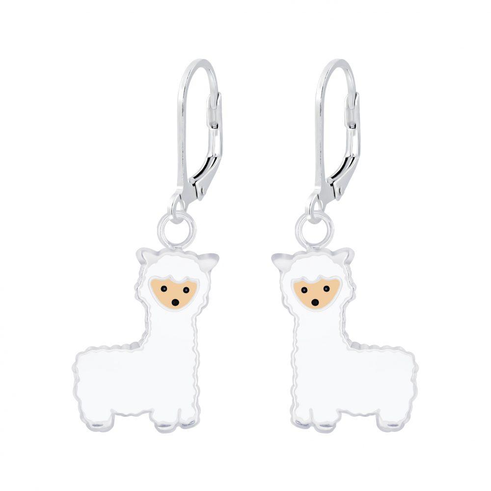 Wholesale Silver Alpaca Lever Back Earrings