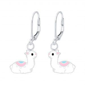 Wholesale Silver Llama Lever Back Earrings