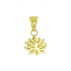 Wholesale Silver Lotus Flower Pendant