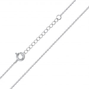 Wholesale 40cm Silver Extendable Cable Chain