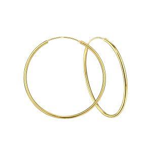 Wholesale 60mm Silver Thick Hoop Earrings