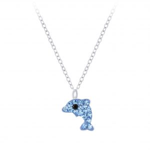 Wholesale Silver Dolphin Necklace