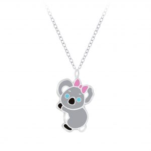 Wholesale Silver Koala Necklace