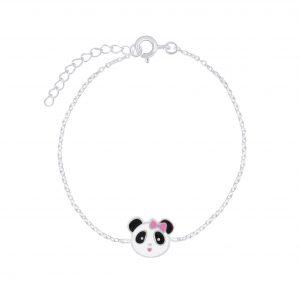 Wholesale Silver Panda Bracelet