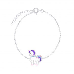 Wholesale Silver Unicorn Bracelet