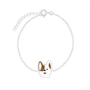 Wholesale Silver Dog Bracelet