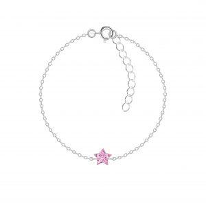 Wholesale Silver Star Bracelet