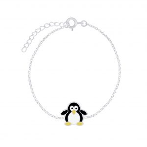 Wholesale Silver Penguin Bracelet