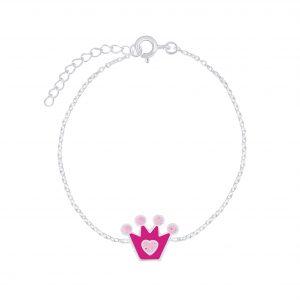 Wholesale Silver Crown Bracelet