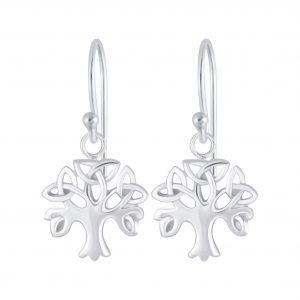 Wholesale Silver Celtic Tree Earrings