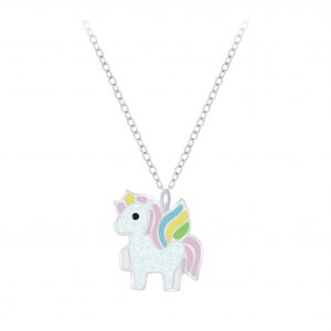Wholesale Silver Unicorn Necklace